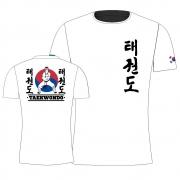 Camisa Camiseta Taekwondo Korea - Branca