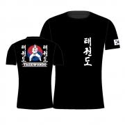 Camisa Camiseta Taekwondo Korea - Preta