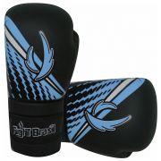 Luvas de Kick Boxe Muay Thai Injetada - Athrox - Azul - Par