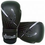 Luvas de Kick Boxe Muay Thai Injetada - Athrox - Preta - Par