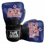 Luvas de Kick Boxe Muay Thai - Azul - FBX-1374