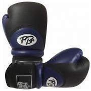 Luvas de Kick Boxe Muay Thai Injetada - FBr - Azul - Par