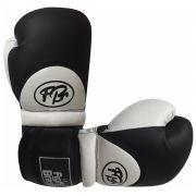 Luvas de Kick Boxe Muay Thai Injetada - FBr - Branca - Par