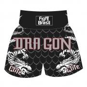 Short Calção Kick Boxing Muay Thai New Dragon Elite - Fb1853