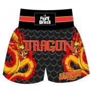 Short Calção Muay Thai - Red Dragon - Unid