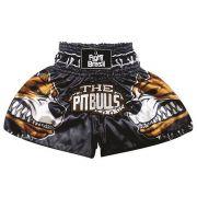 Short Calção Muay Thai Kick Boxing - Pit Bull - Unid