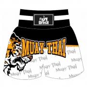 Short Calção Muay Thai - White Tiger - Fb3001