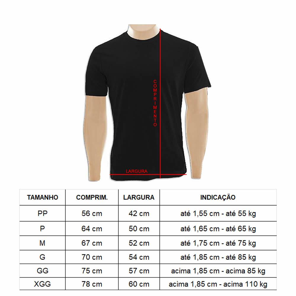 Camisa Camiseta Brazilian Jiu Jitsu - Flag - Fb-2048 - Preta