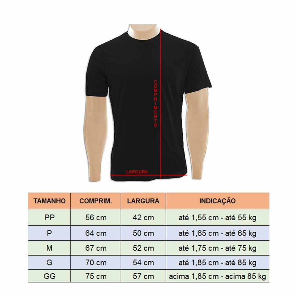 Camisa Camiseta Muay Thai - Brasil - Preta