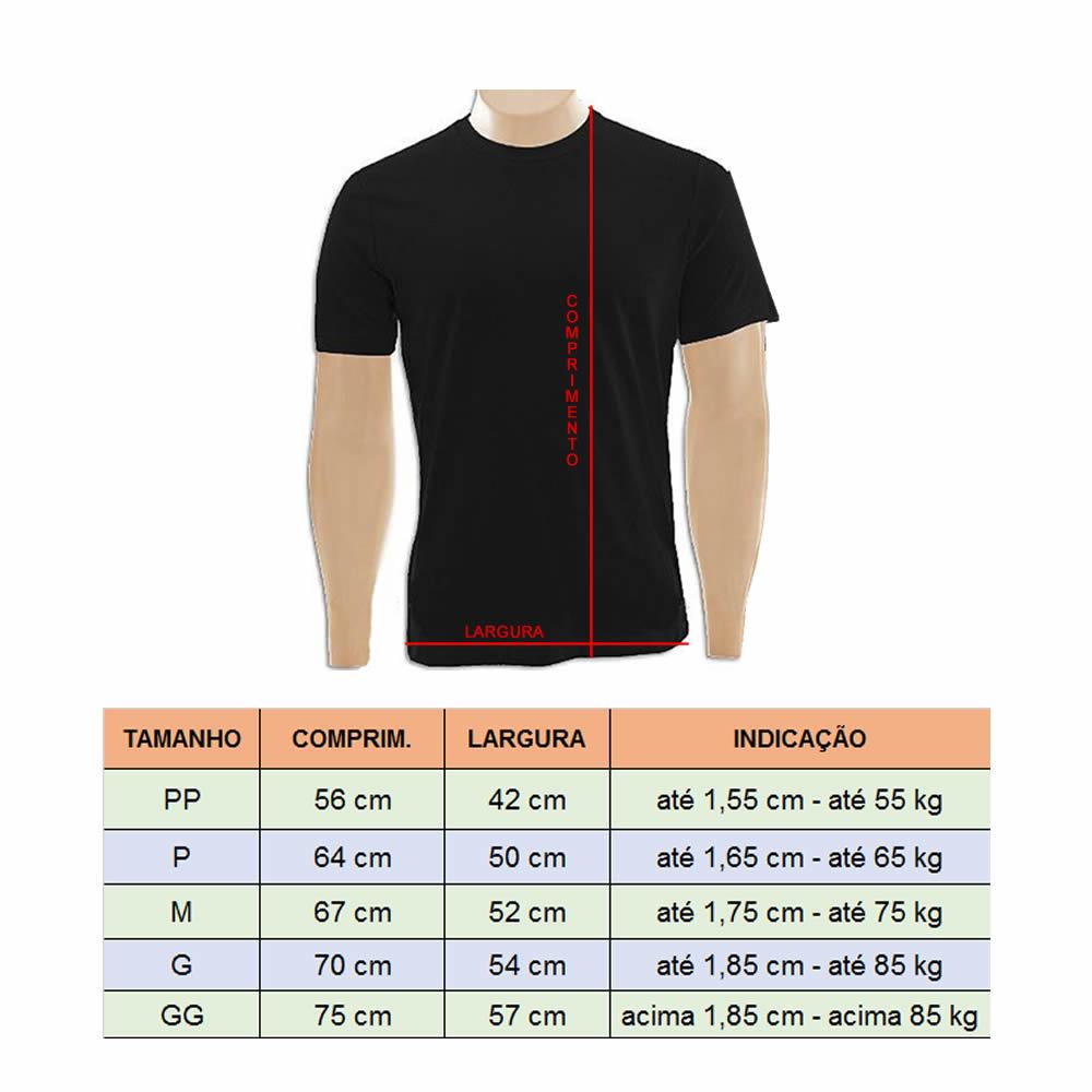 Camisa Camiseta Muay Thai Dragon - Preta