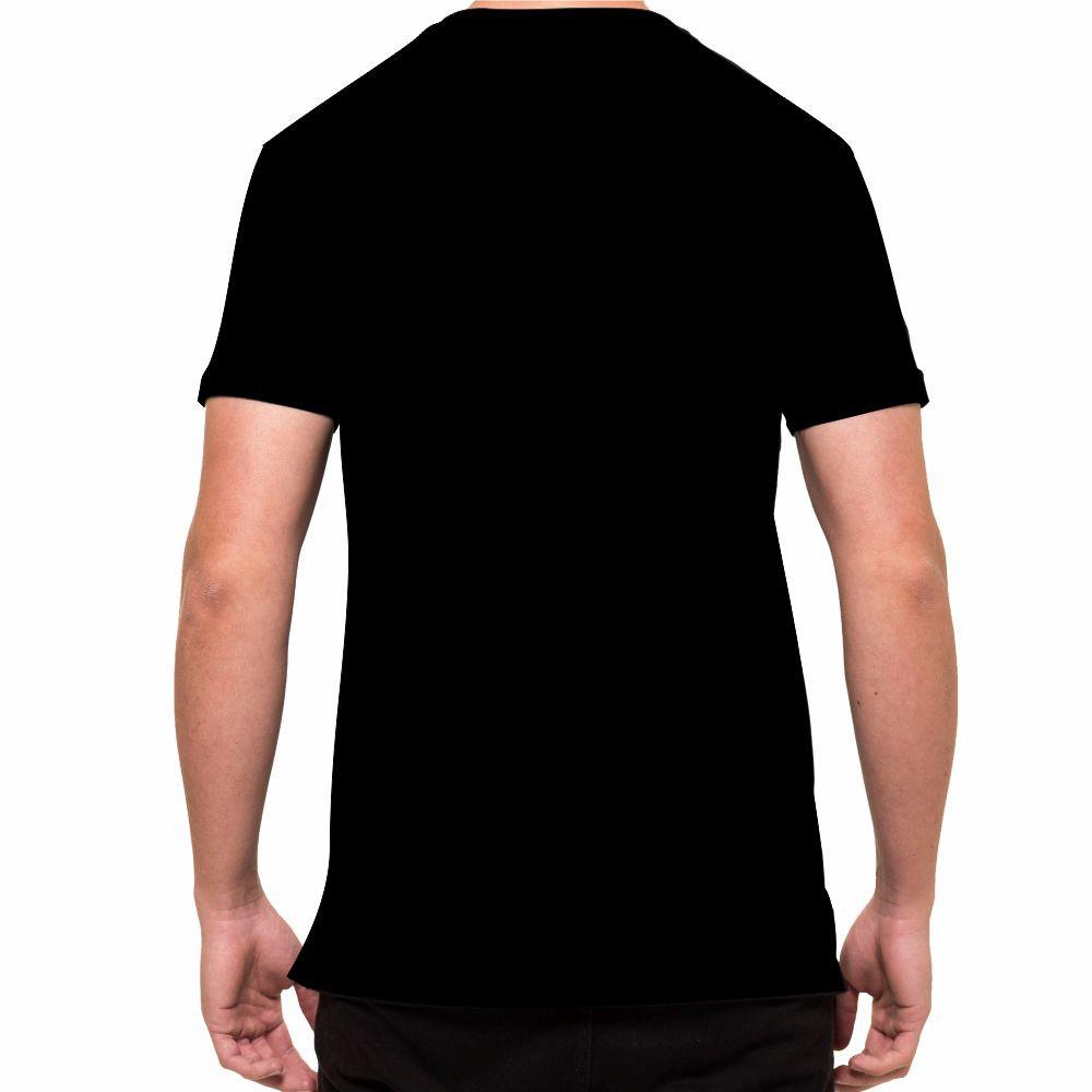 Camisa Camiseta Muay Thai - Tailândia - Preta