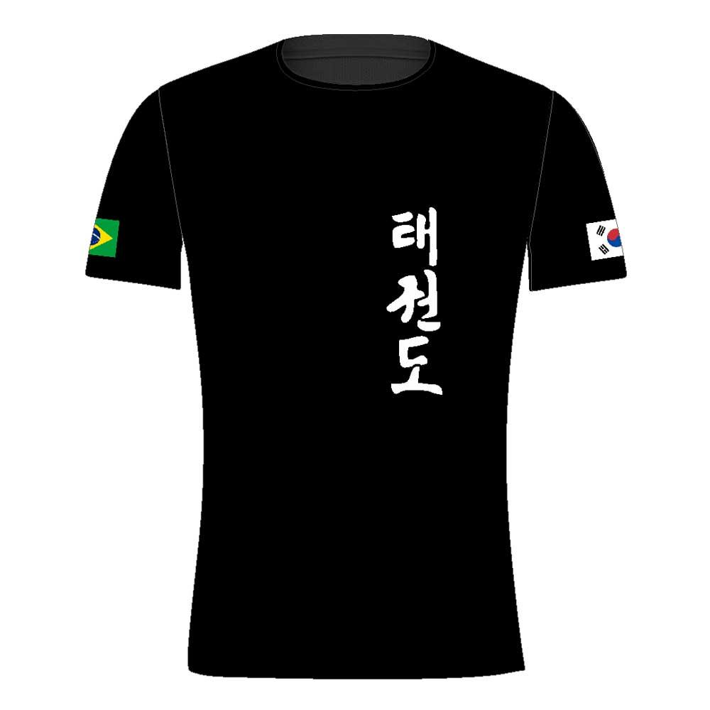 Camisa Camiseta Taekwondo Korea - Fb-2058 - Preta
