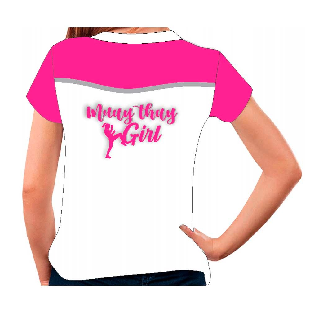 Camiseta Muay Thai Girl - Baby Look Feminina - Fb-2072B