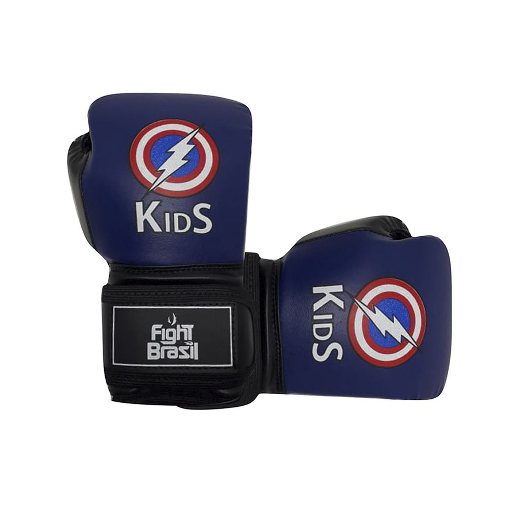 Luvas de Kick Boxe Muay Thai - Infantil - Kids  - 04 Oz