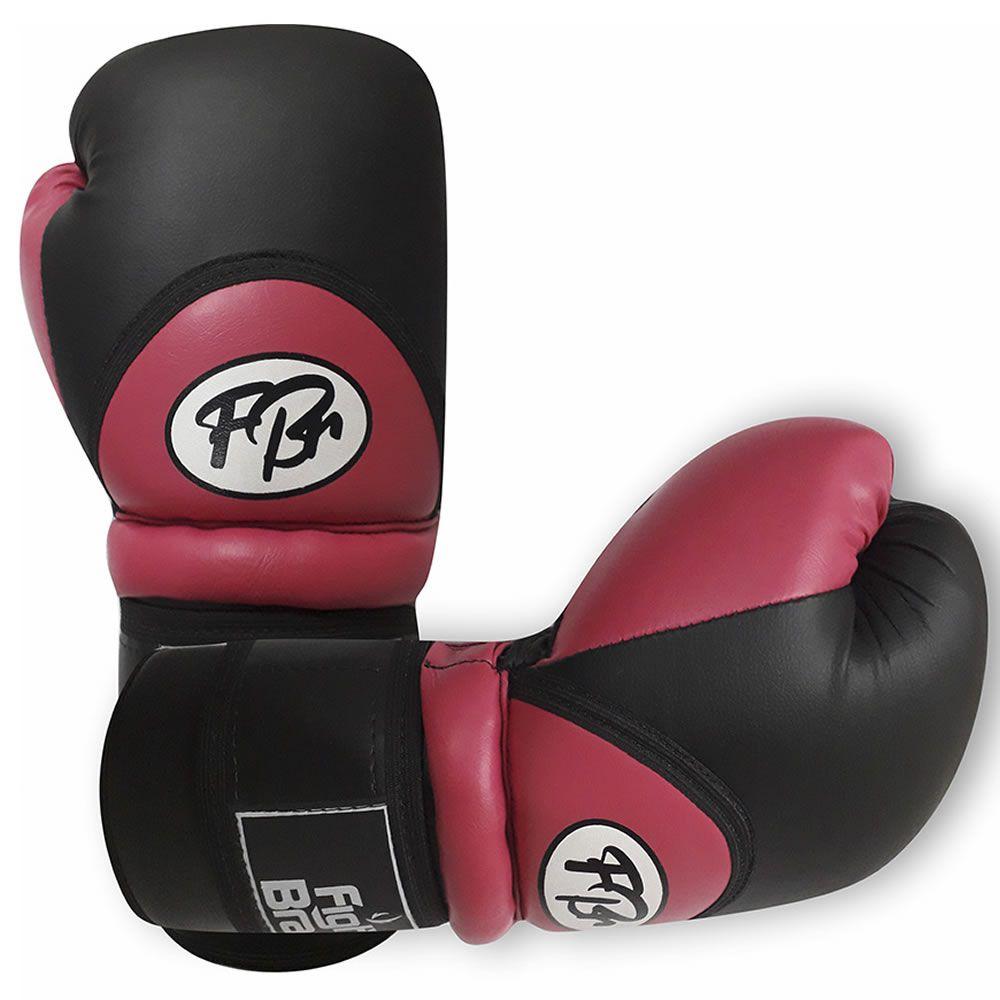 Luvas de Kick Boxe Muay Thai Injetada - FBr - Rosa