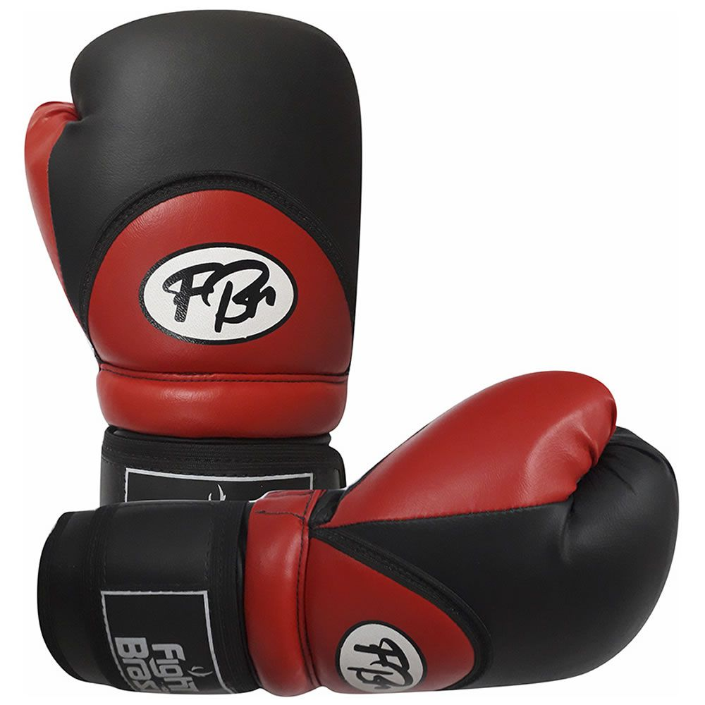 Luvas de Kick Boxe Muay Thai Injetada - FBr - Vermelha - Par