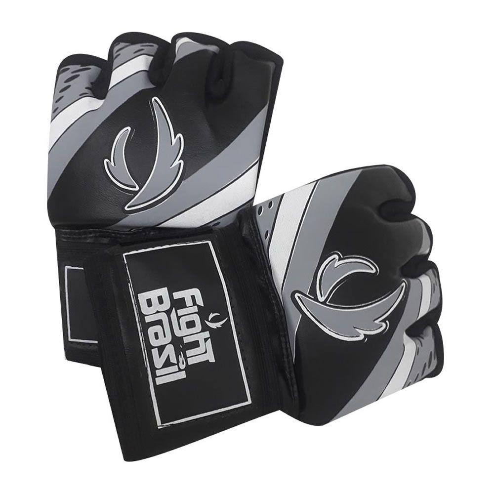 Luvas de MMA Grappling - Dedão Livre Estilo UFC - Par