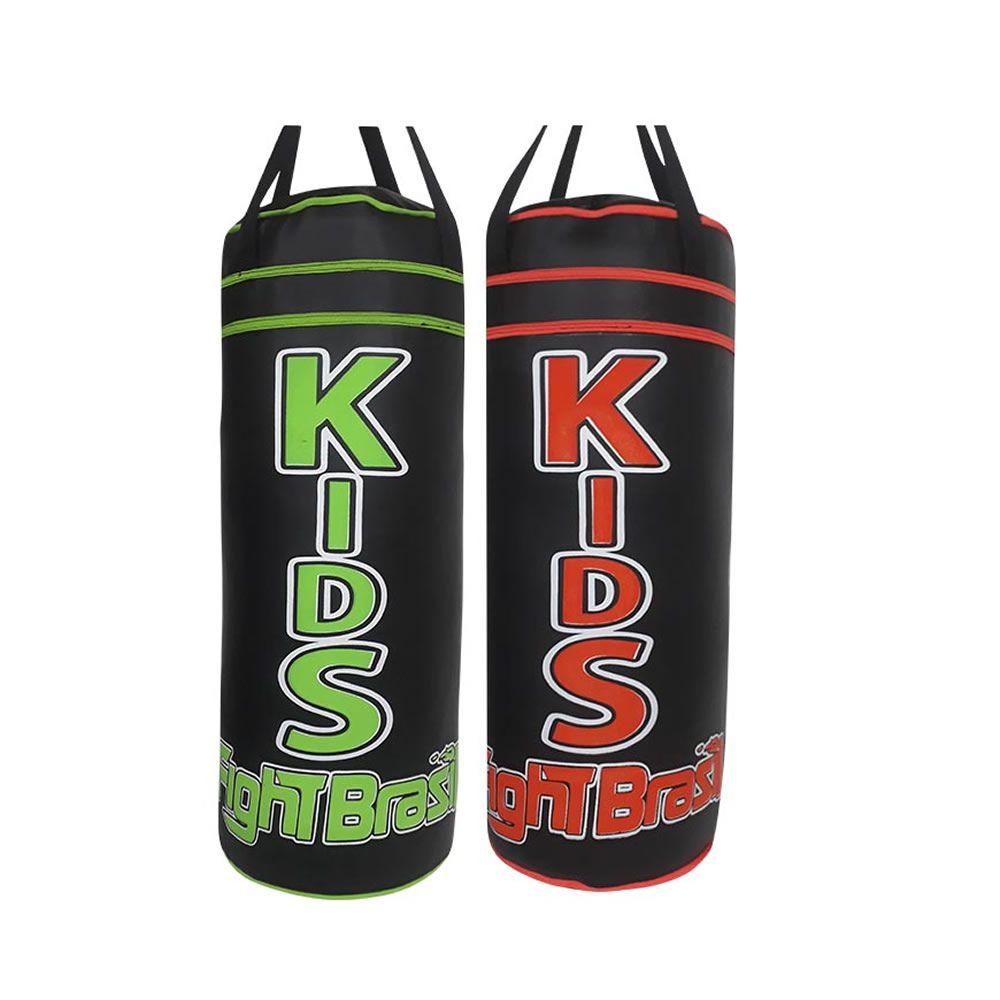 Saco de Pancadas - Boxe Muay Thai - Infantil - Kids 55 cm - Cheio