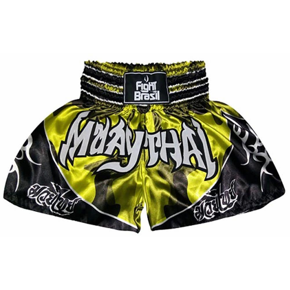 Short Calção Muay Thai - Camuflado - Unid