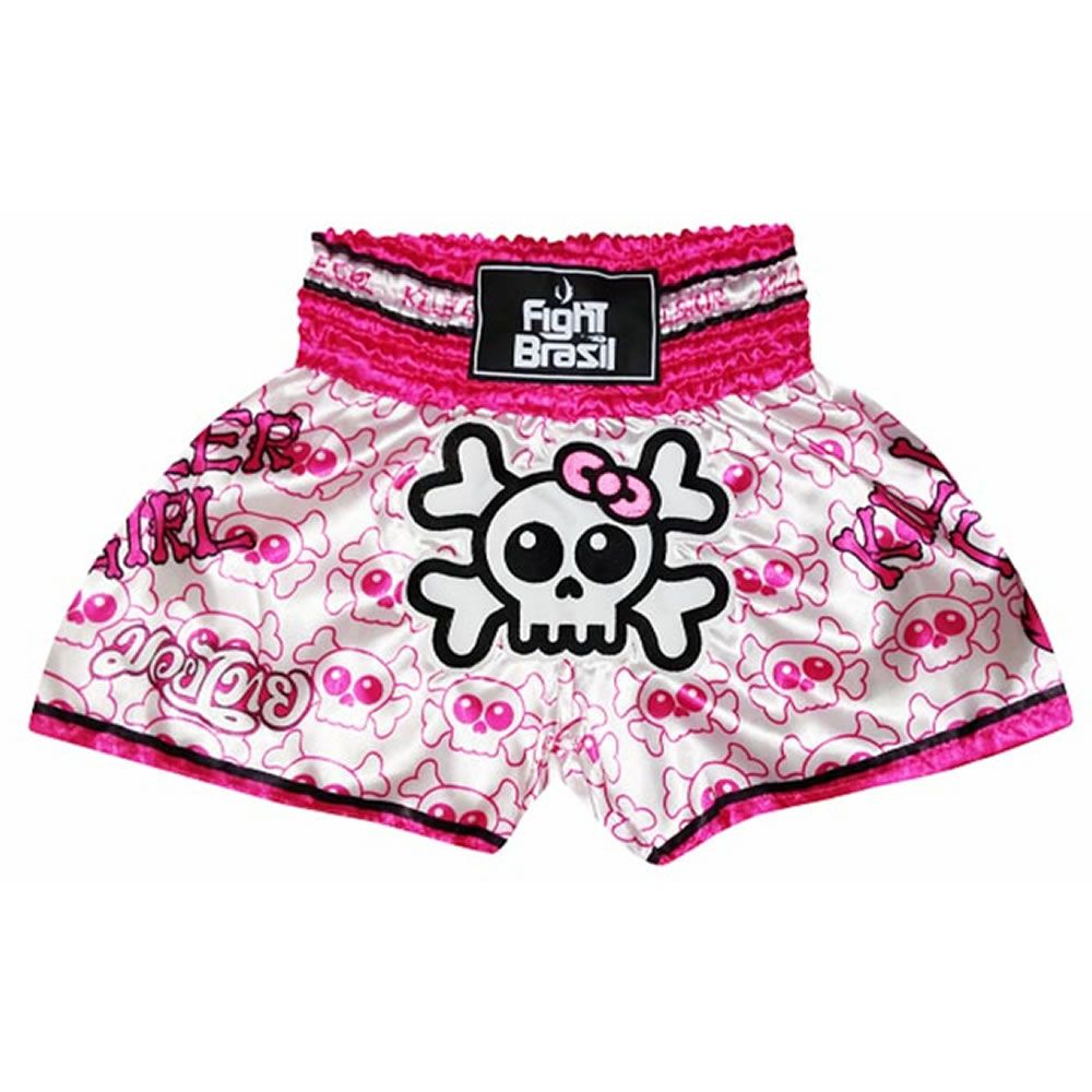 Short Calção Muay Thai Kick Boxing - Killer Girl - Feminino