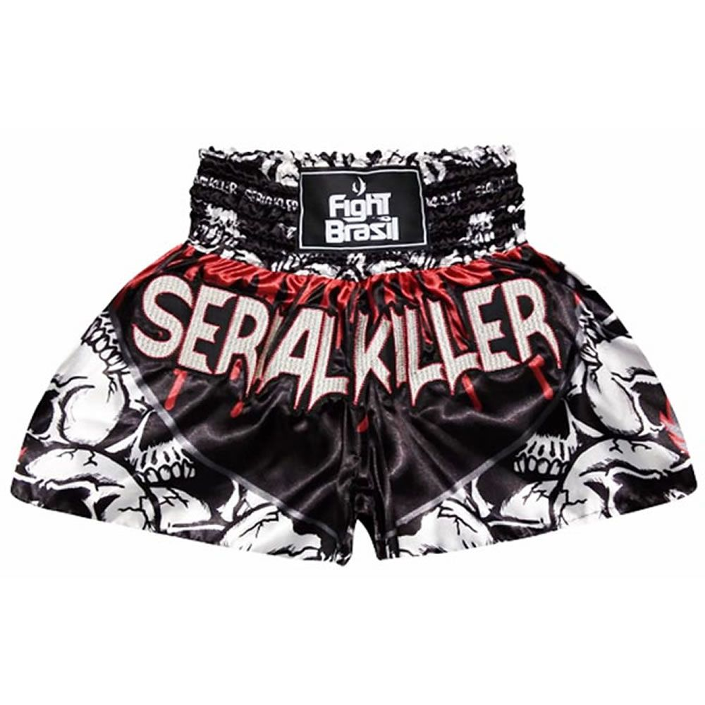 Short Calção Muay Thai Kick Boxing - Serial Killer