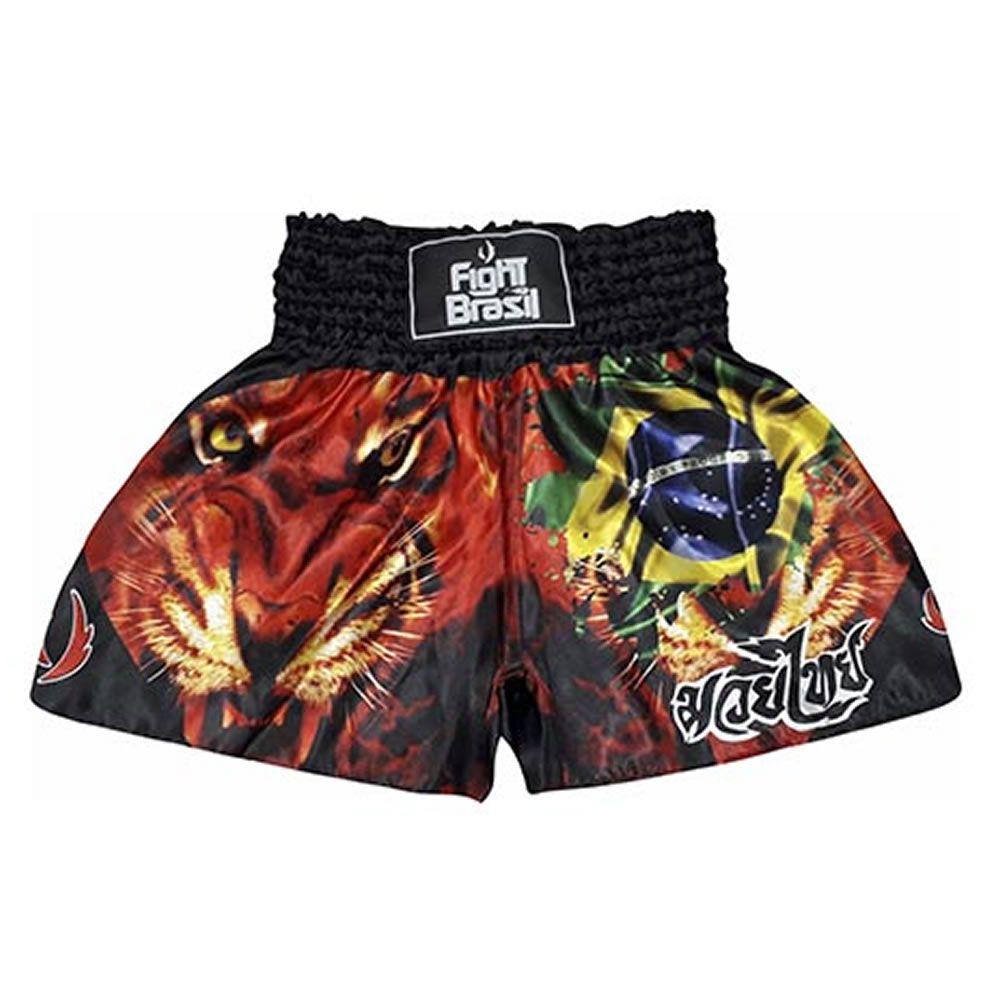 Short Calção Muay Thai - Tiger Brasil - Unid