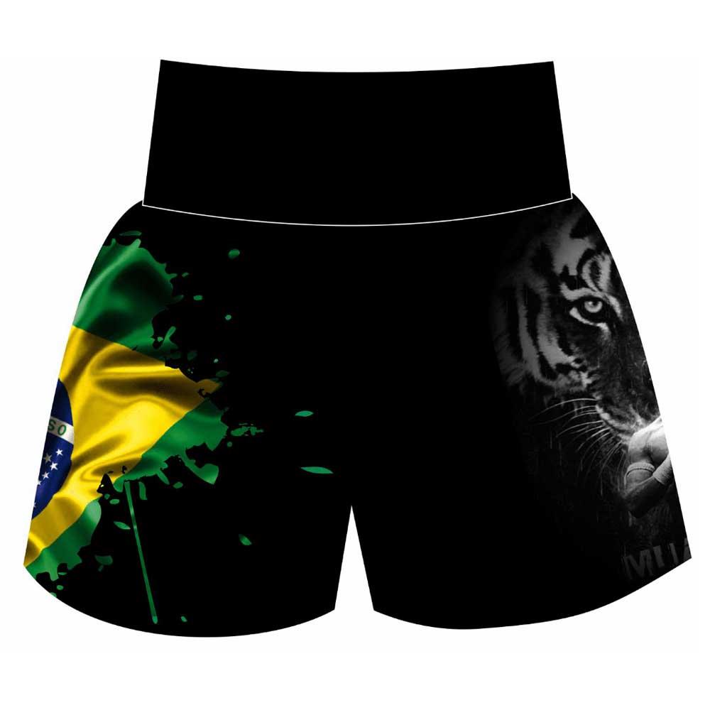 Short Calção Muay Thai - Tiger Brasil II - Unid