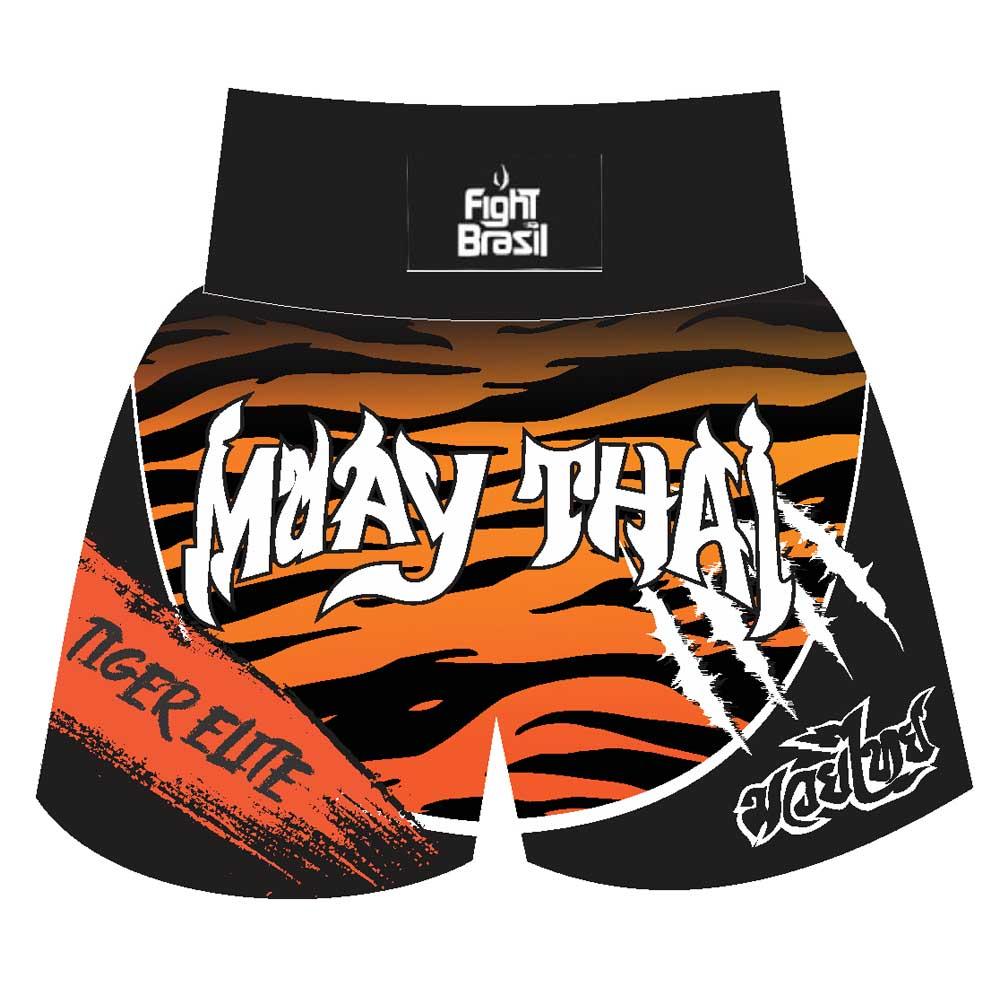 Short Calção Muay Thai - Tiger Skin - Unid