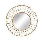 Espelho Dourado Sole 61 Cm