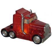 Luminária Infantil Led Caminhão Vermelho 23 Cm