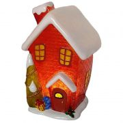 Luminária Infantil Led Casa Inverno 21 Cm