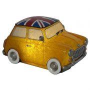 Luminária Infantil Led Mini Cooper Amarelo 22,5 Cm