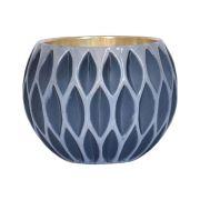 Vasinho Azul Lumen Net M 9,5 Cm