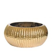 Vaso Dourado Solare G 27 Cm