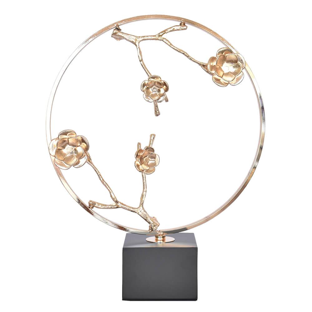 Aro Dourado Rosen 39 Cm