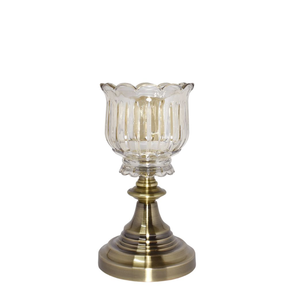 Castiçal Bronze Louise G 26,5 Cm