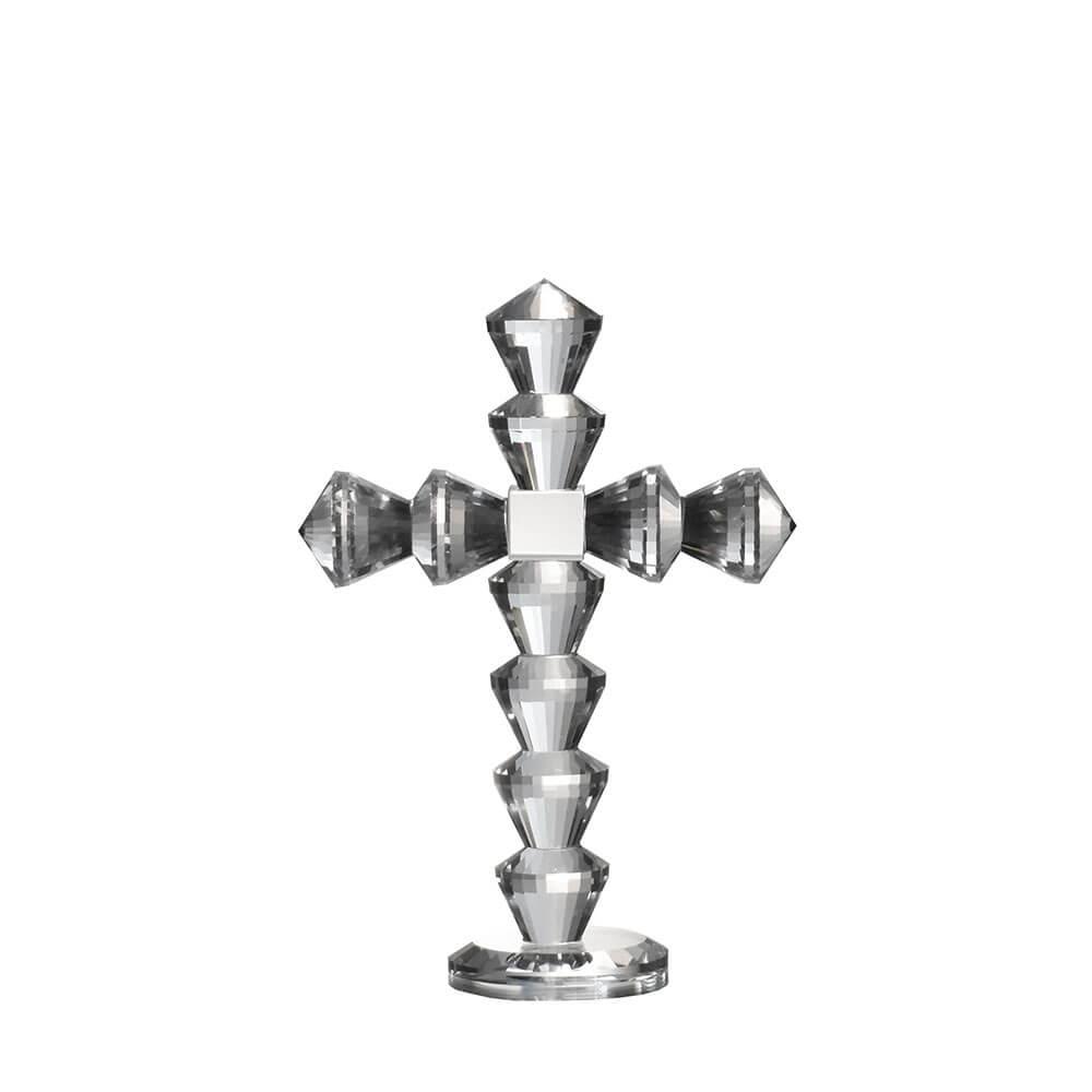 Cruz de Cristal Cryst Corse P 19 Cm