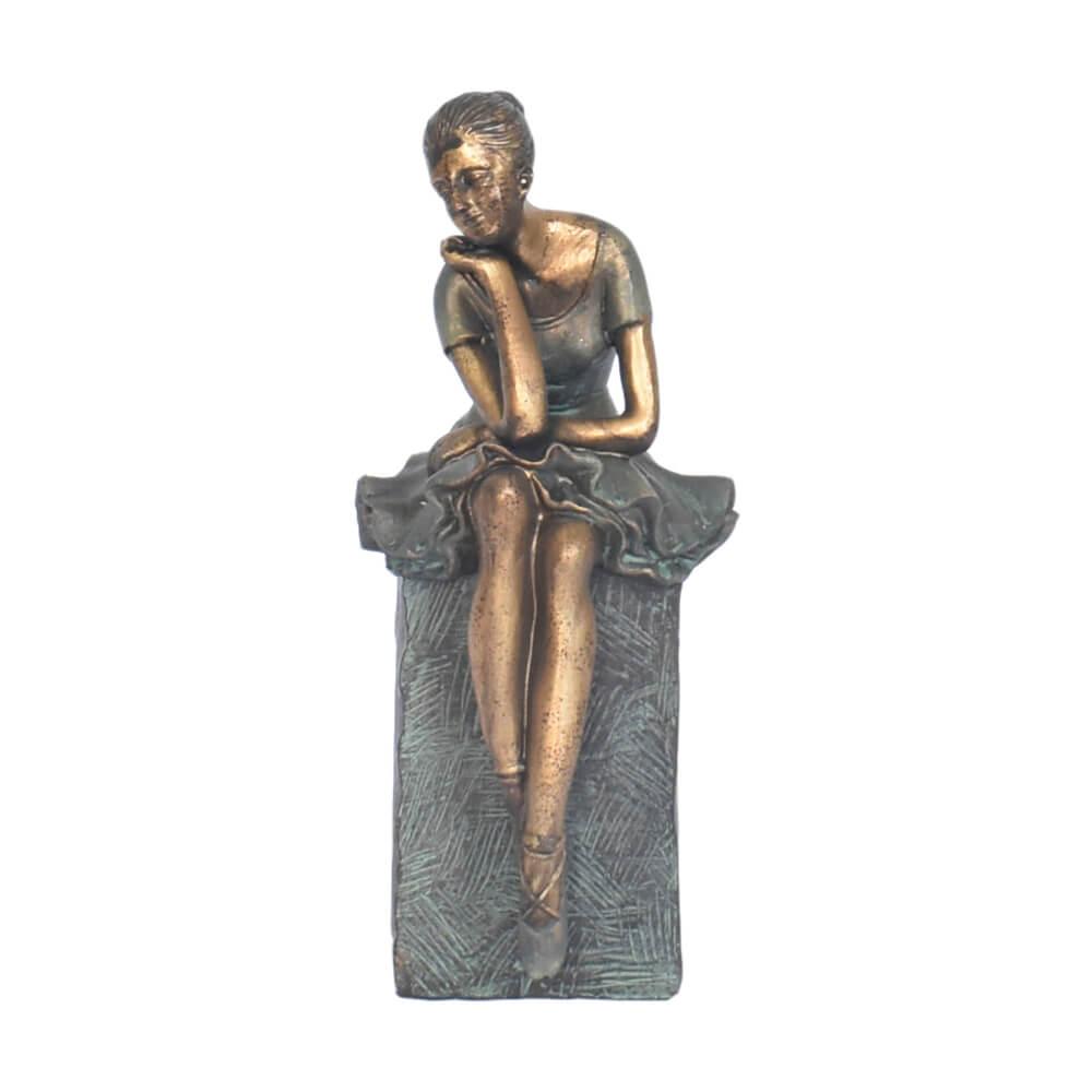 Estatueta Bailarina 23,5 Cm