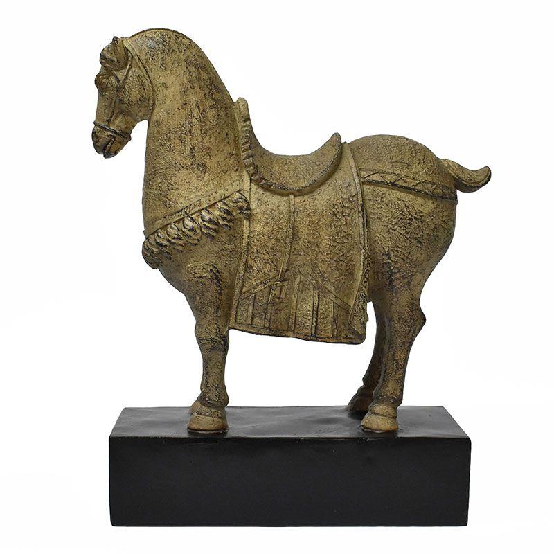 Estatueta Cavalo Han P 31,5 Cm