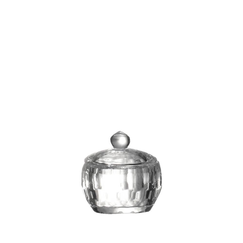 Porta Joias de Cristal Lapidado Sigma G 6 Cm