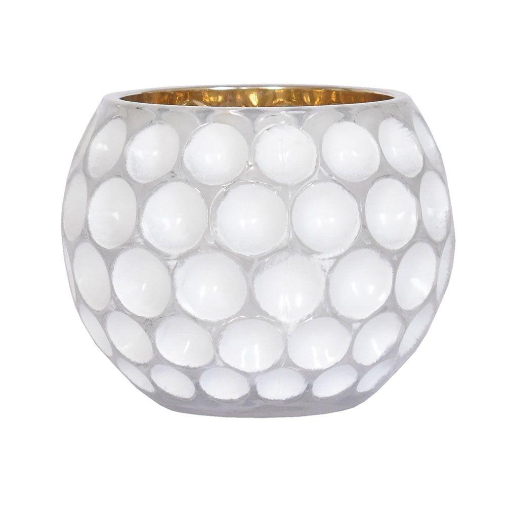 Vasinho Branco Lumen Lux G 10,5 Cm