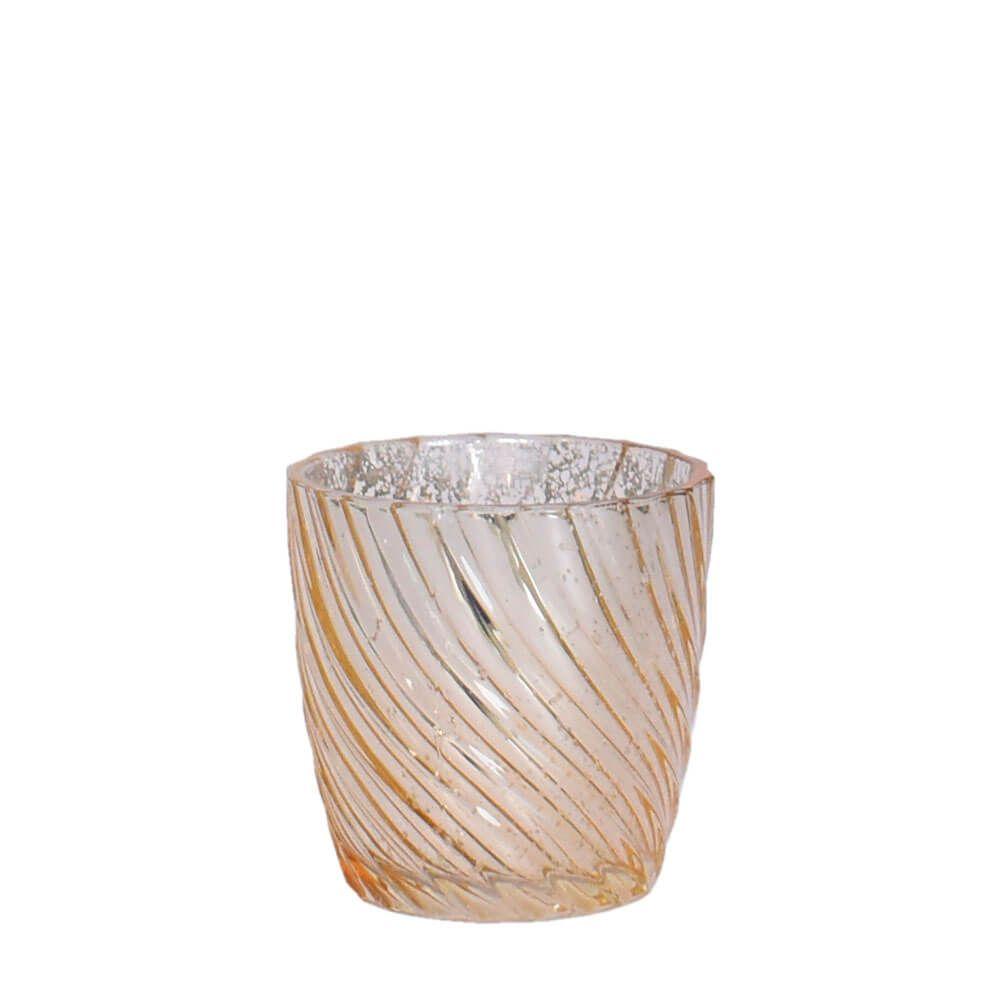 Vasinho Dourado Lumen Mix E 7,5 Cm