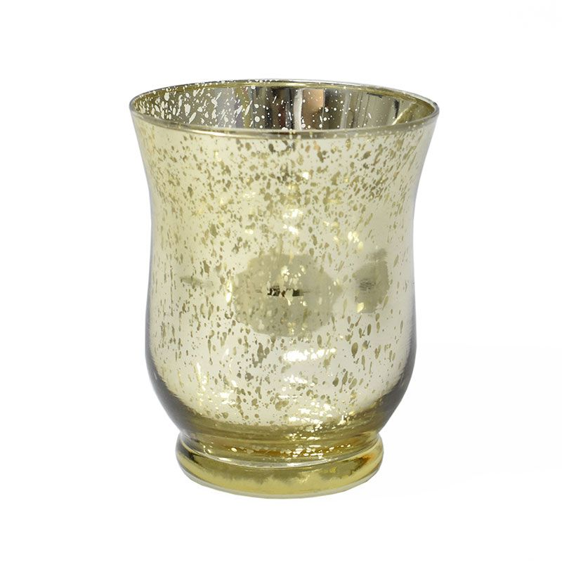 Vasinho Dourado Lumen Sino M 11 Cm