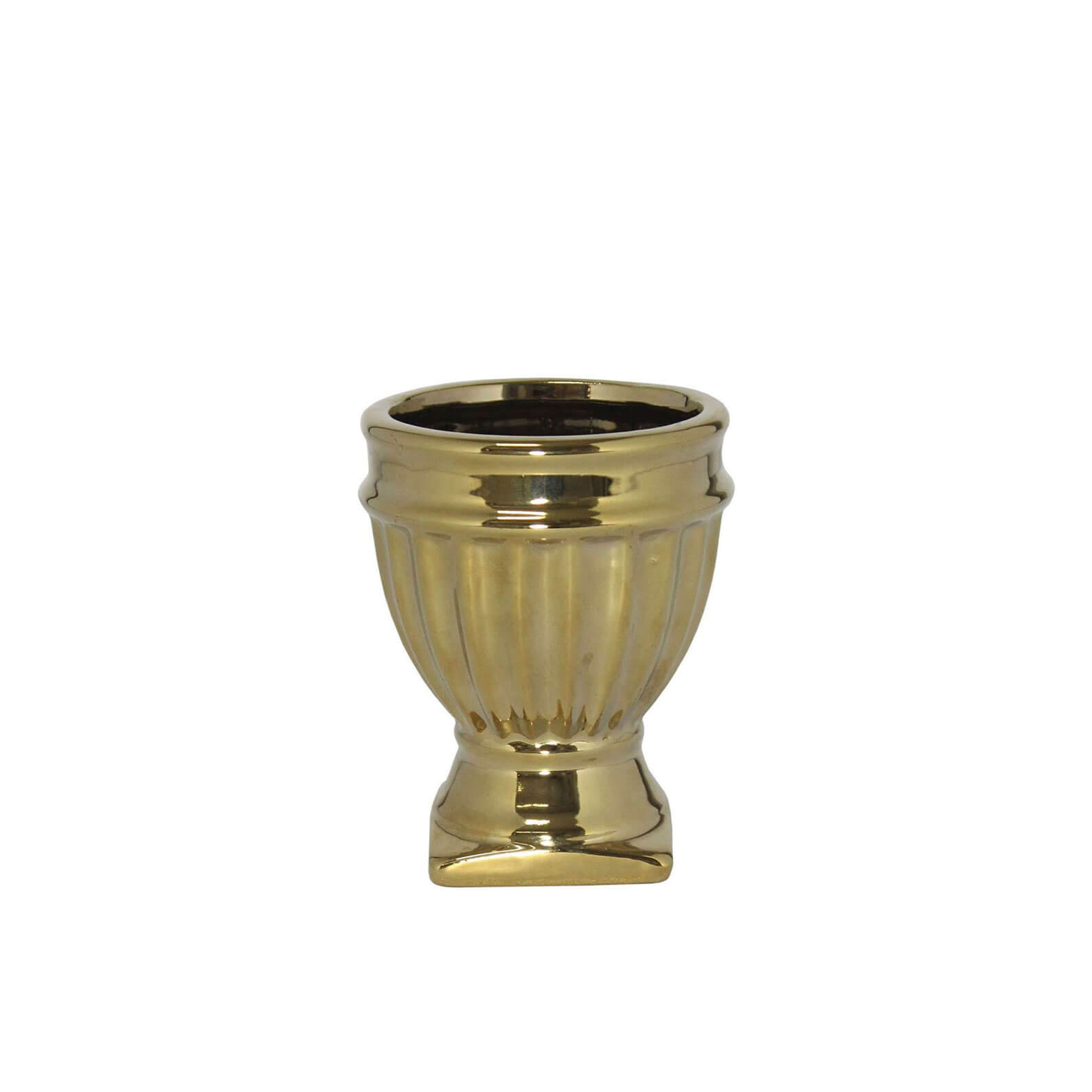 Porta Vela Dourado Verona G 10 Cm