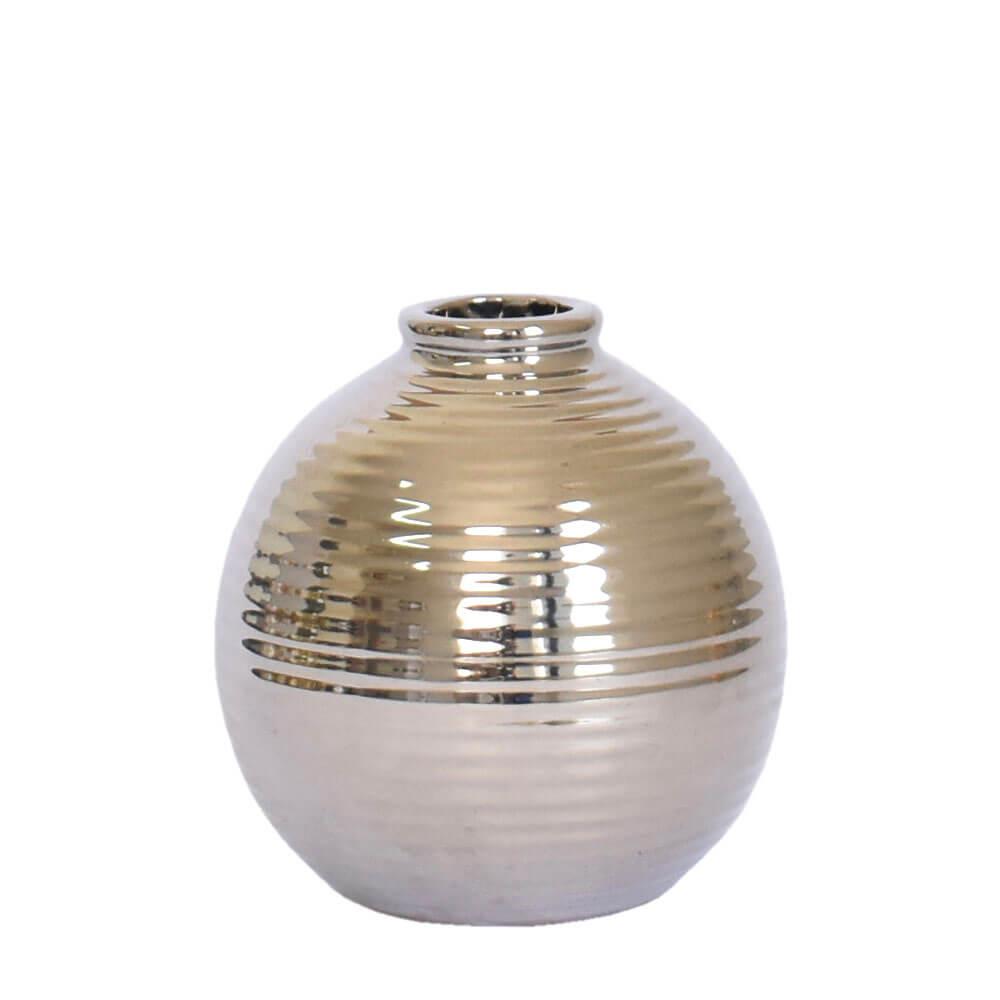 Vasinho Prata Bromme 10 Cm