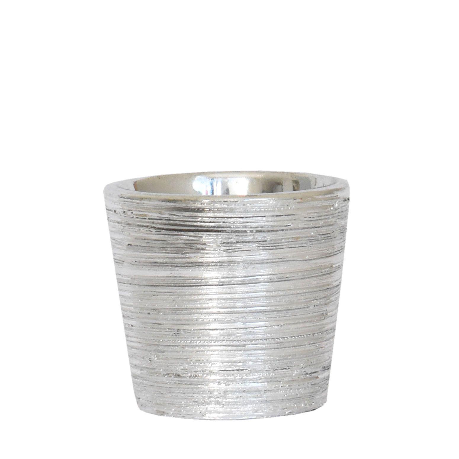 Vasinho Prata Flamen 6,5 Cm