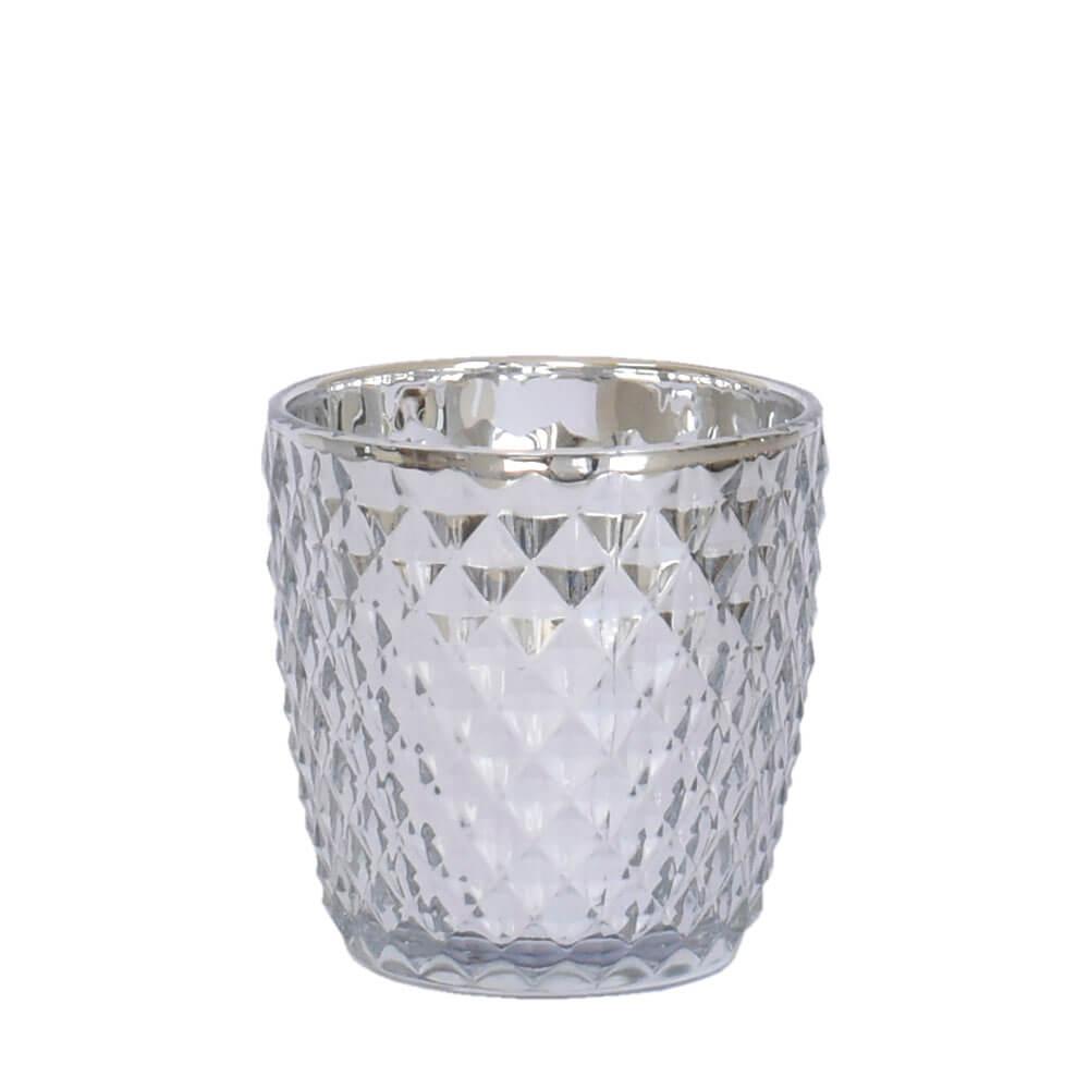 Vasinho Prata Lumen Shine 9 Cm