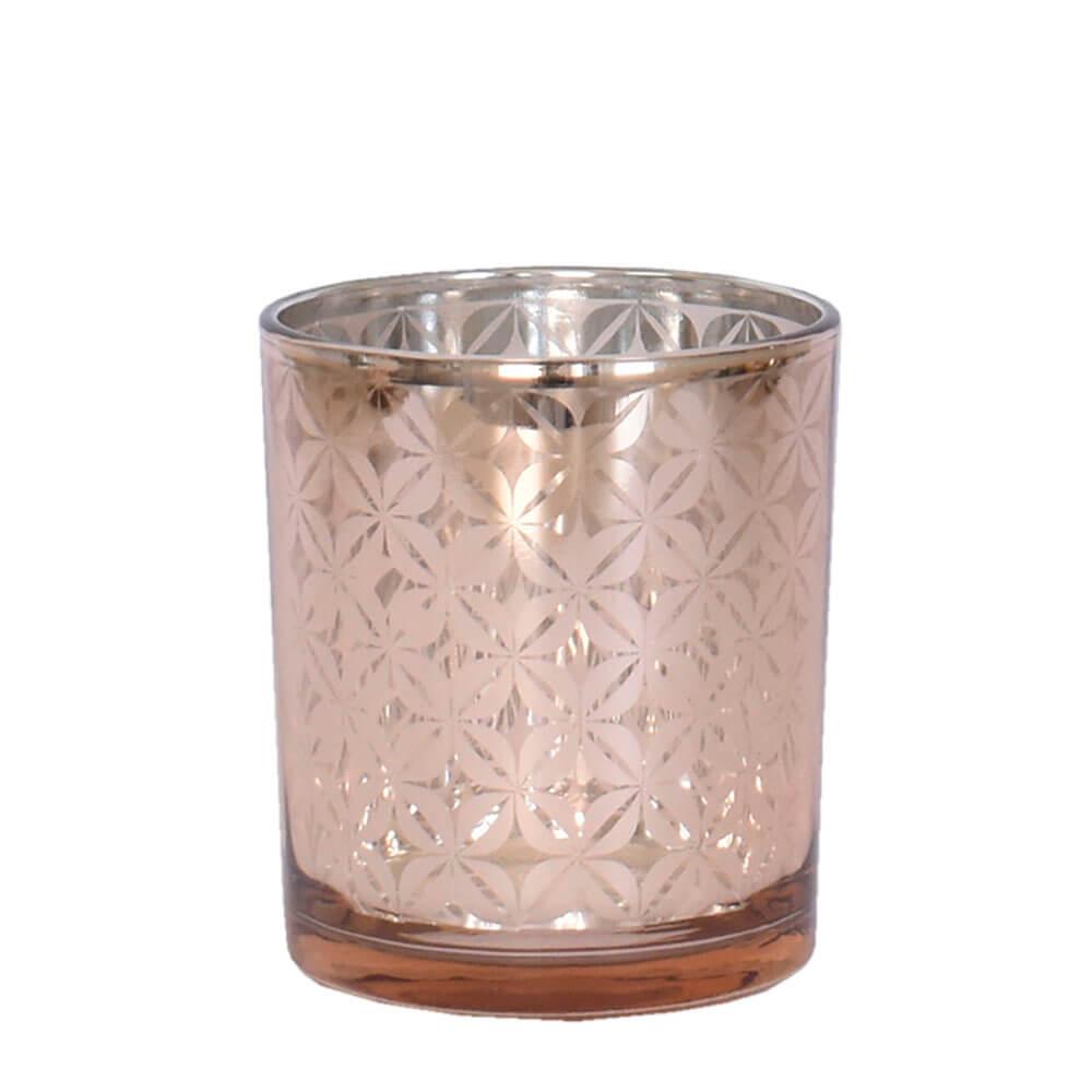 Vasinho Rosa Lumen Iridium P 10 Cm