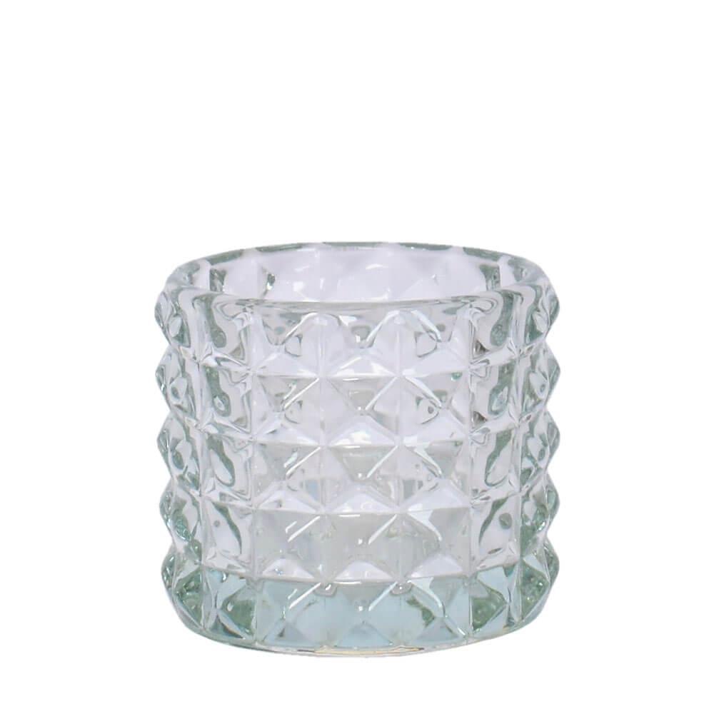 Vasinho Transparente Lumen Dizzi 8,5 Cm
