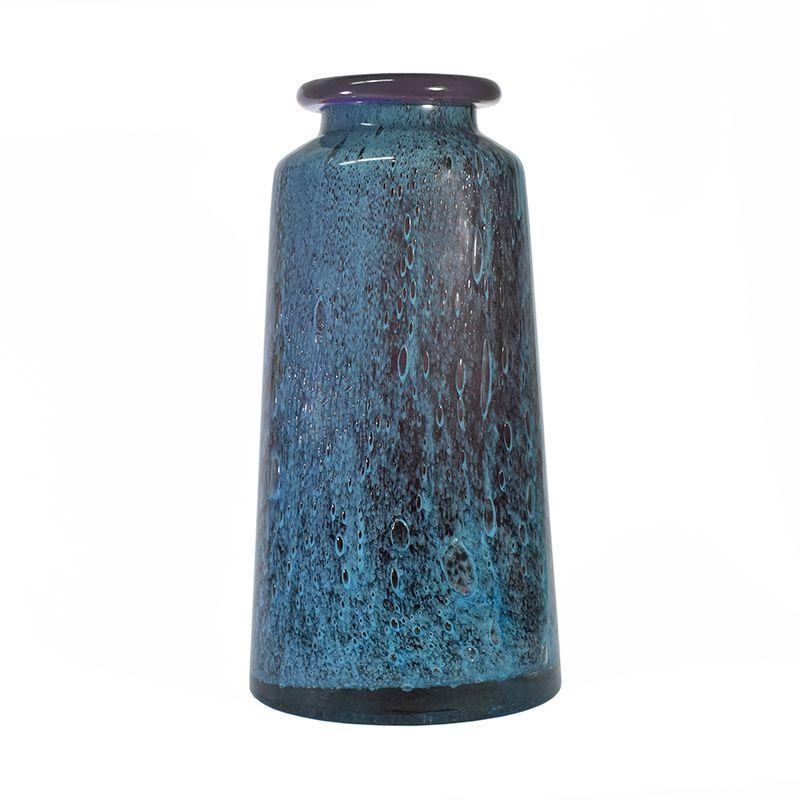 Vaso Azul e Roxo Cobalt G 38 Cm
